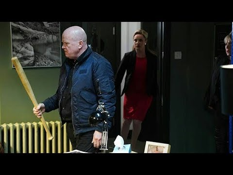 EastEnders - Phil Mitchell's Rampage/Phil Hits Jack (9th April 2018)