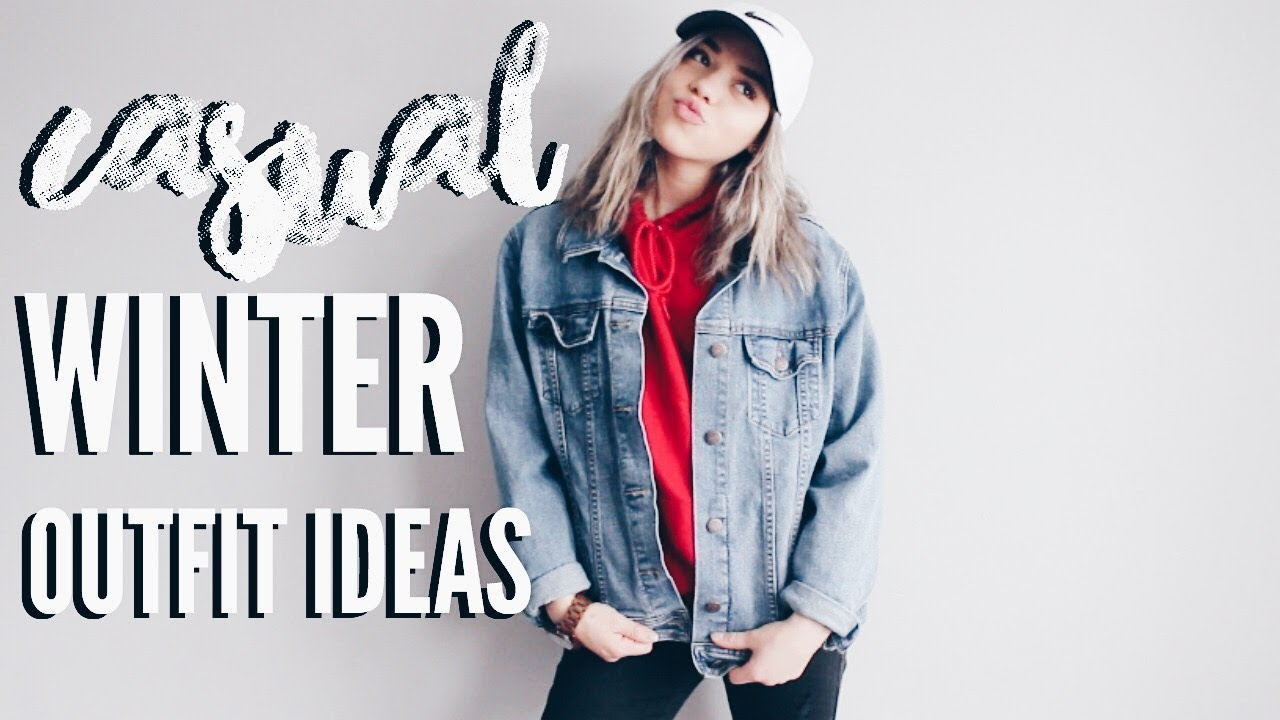 [VIDEO] - Casual Winter Outfit Ideas + WATCH GIVEAWAY! | ThatsBreexo 3