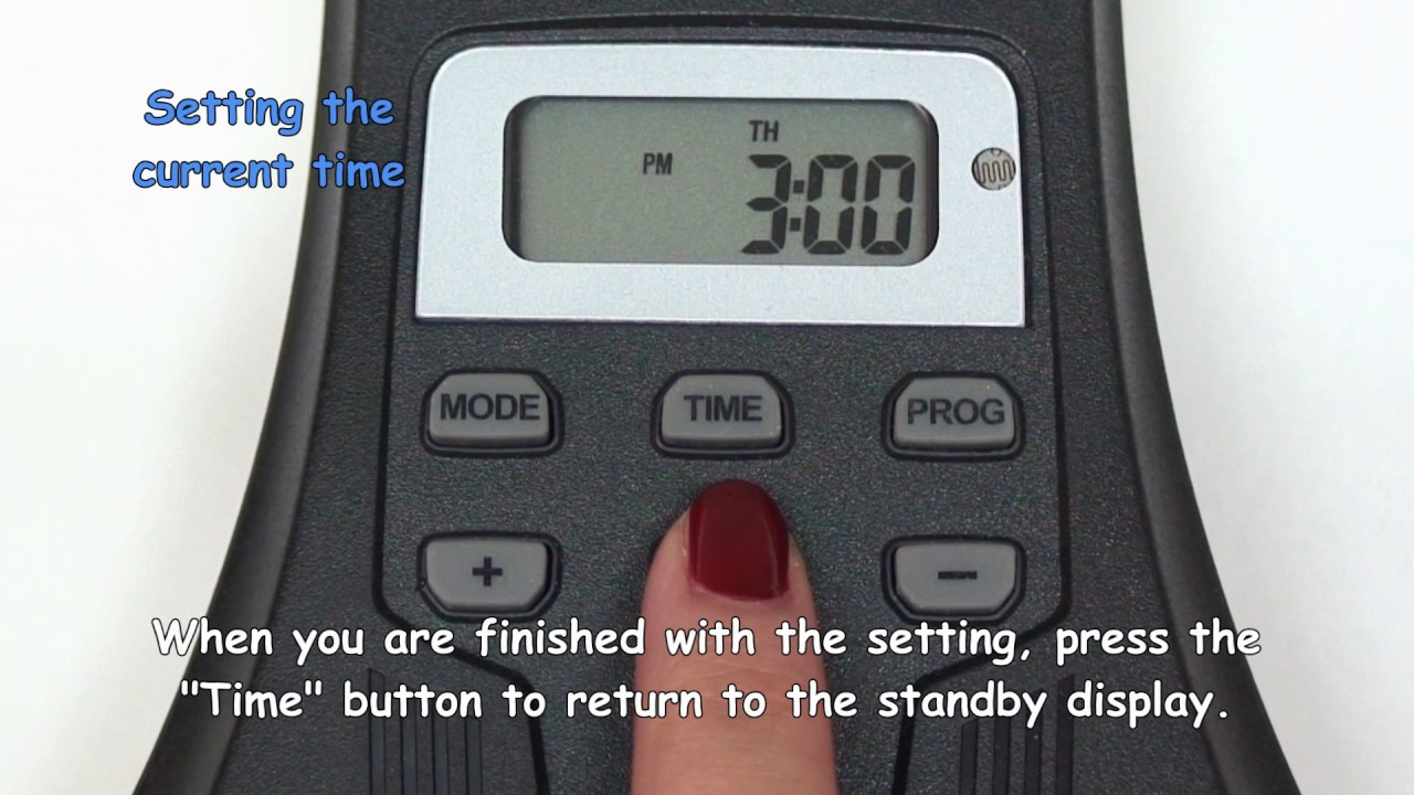 digital timer how to delete program