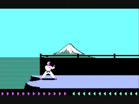 Karateka de Jordan Mechner sur floppy-legend.fr pour ibm pc