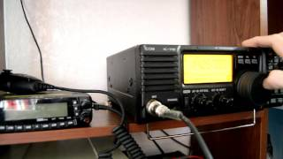 icom ic 718 hooked up