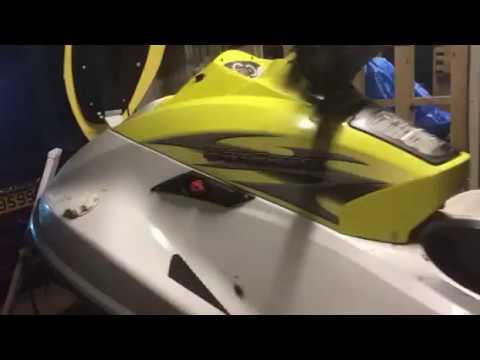 Yamaha jet ski repair pt 2