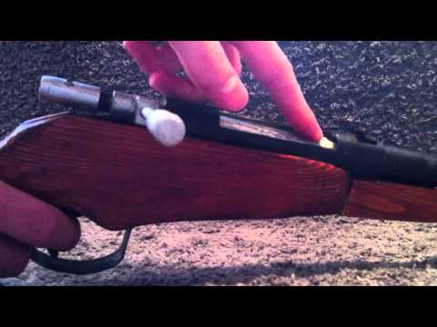 Homemade Paper Bolt Action Rifle #4