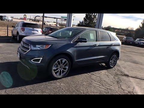 2018 Ford Edge Centennial CO, Littleton CO, Fort Collins CO, Greeley CO, Cheyenne WY JBB19136