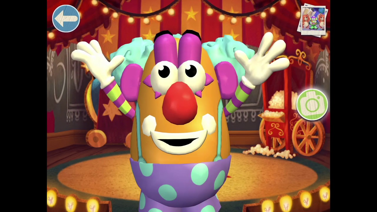 Mr Potato Head Create And Play All Costumes