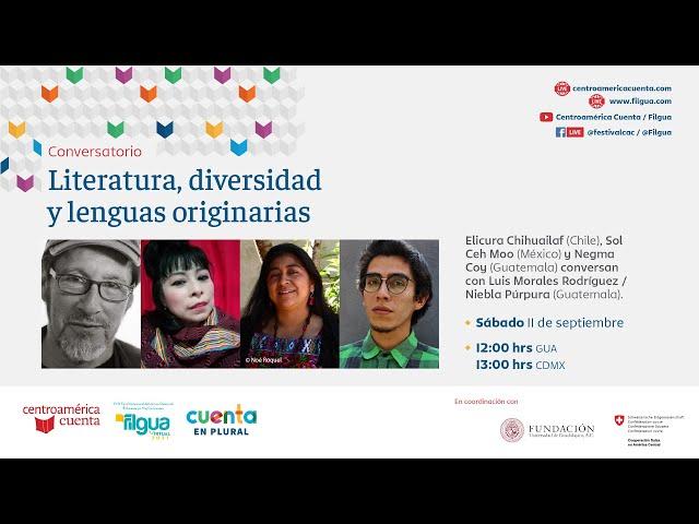 Conversatorio: Literatura, diversidad y lenguas originarias