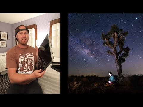 Joshua Tree Star Photography and My New Dell XPS 15 2018