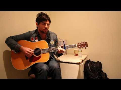 """Scott Avett sings, """"marriage"""" by Bombadil"""
