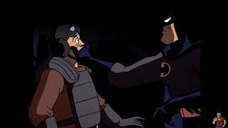 Batman vs cops in the season 1 episode of batman: animated series