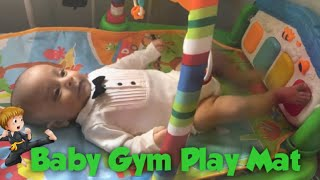 Baby Gym Play Mat Lay & Play 3 in 1 fitness music and Lights Fun.