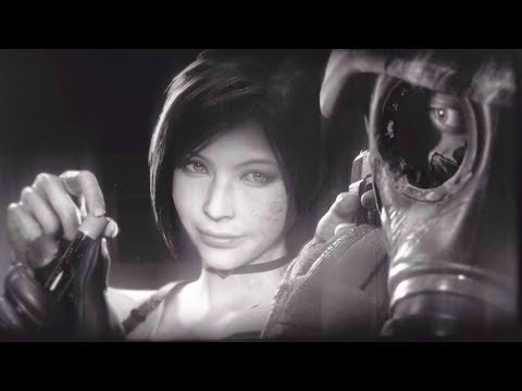 Ada Survives the Fall And Steals the G-Virus - Ghost Survivors - Resident Evil 2 Remake