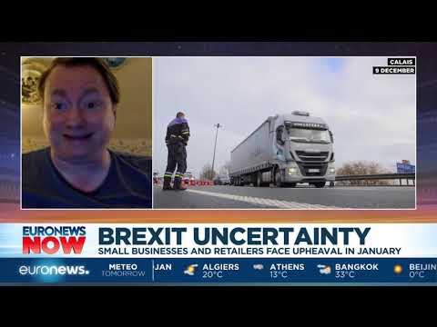 euronews (in English): Brexit uncertainty: Small businesses in UK are unable to plan beyond the short term