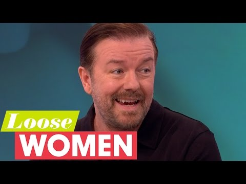 Ricky Gervais On Reality Stars And Their Hunger For Fame | Loose Women