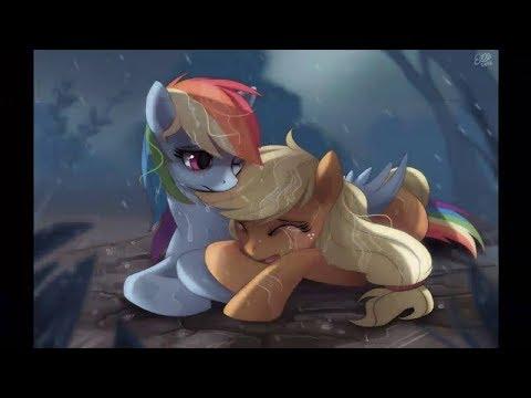 Mlp Say Something (apple Jack And Rainbow Dash)