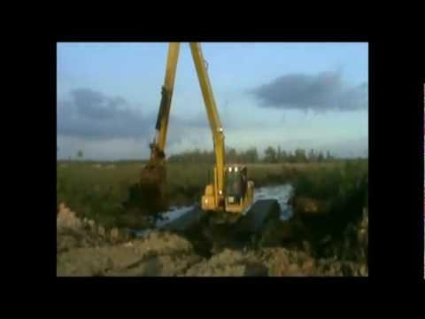 Bán máy đào cần siêu dài, máy đào lội nước Sumitomo- Ultratrex...Hotline: 0972740587