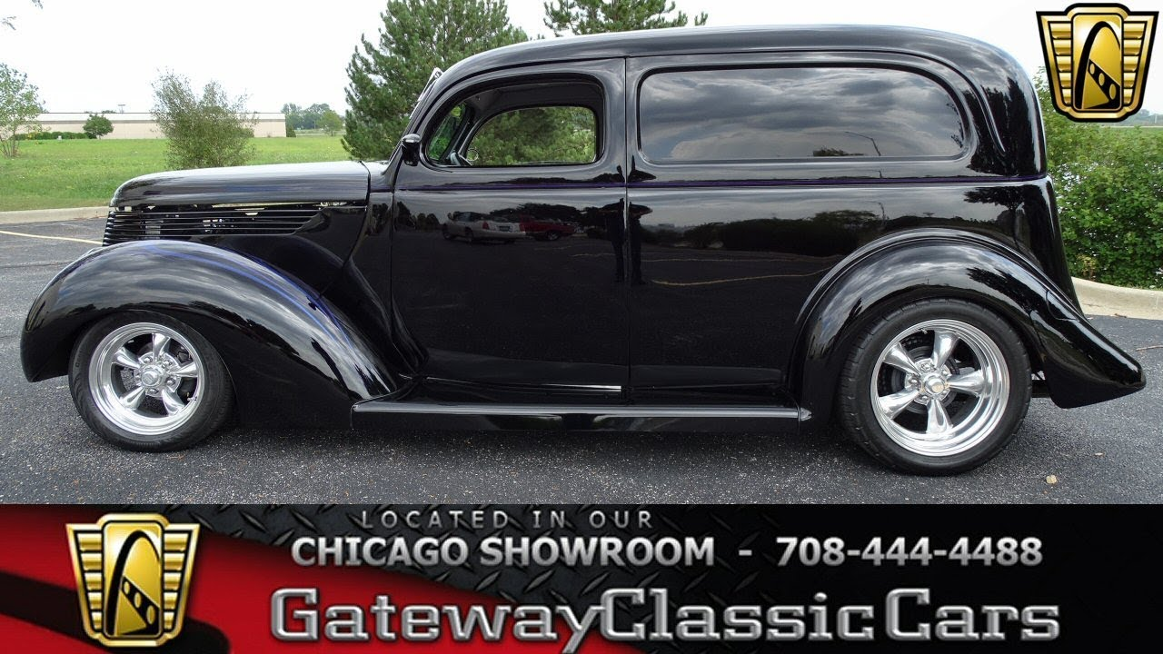 1938 Ford Sedan Delivery Gateway Classic Cars #1271 - YouTube