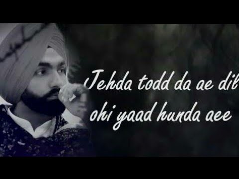 tod-da-e-dil-ohi-yaad-aaunda-ae-ammy-virk-song-punjabi-latest-.......audio-song