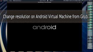 android x86 черный экран