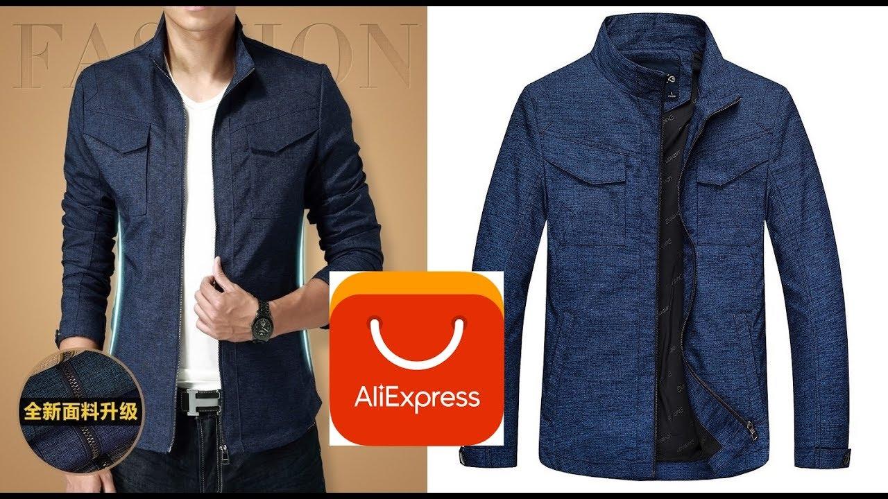 Осенняя куртка с сайта Aliexpress за 33$ Открытие фейл - YouTube