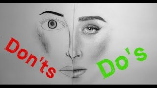 Realistic Portrait Drawing: Do