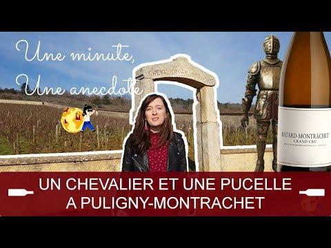 [VIDÉO] Une minute, une anecdote - Une pucelle et un chevalier à Puligny-Montrachet