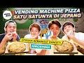 CUMA ADA SATU DI JEPANG! VENDING MACHINE PIZZA!? | WASEDA BOYS TRIP #10