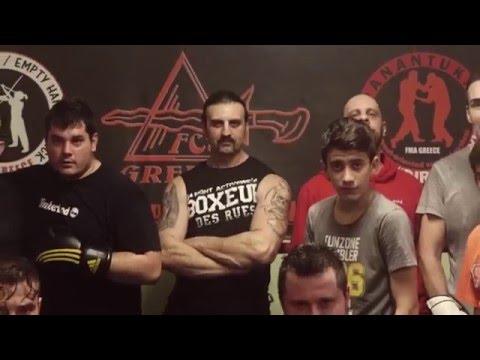 FCS Greece fight club 'Ροή'