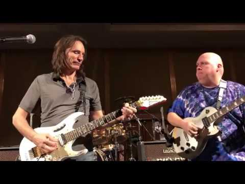 Tom Atkins Jams with Steve Vai at Vai Academy 4