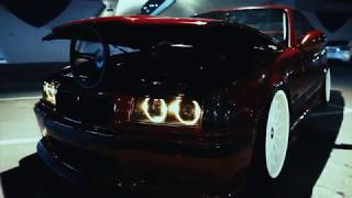 BMW e36 Tuning, Stance, Exhaust Sound ( PART 1 )