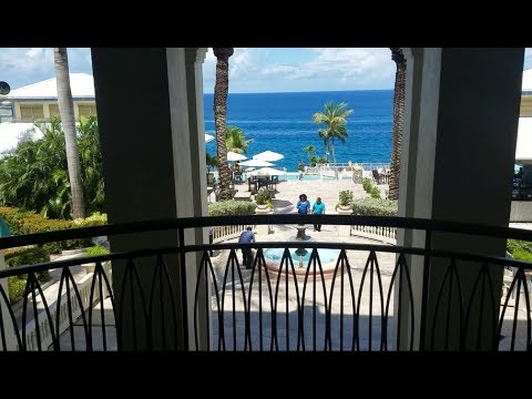 Marriott St Thomas USVI before Hurricane Irma and Hurricane Maria