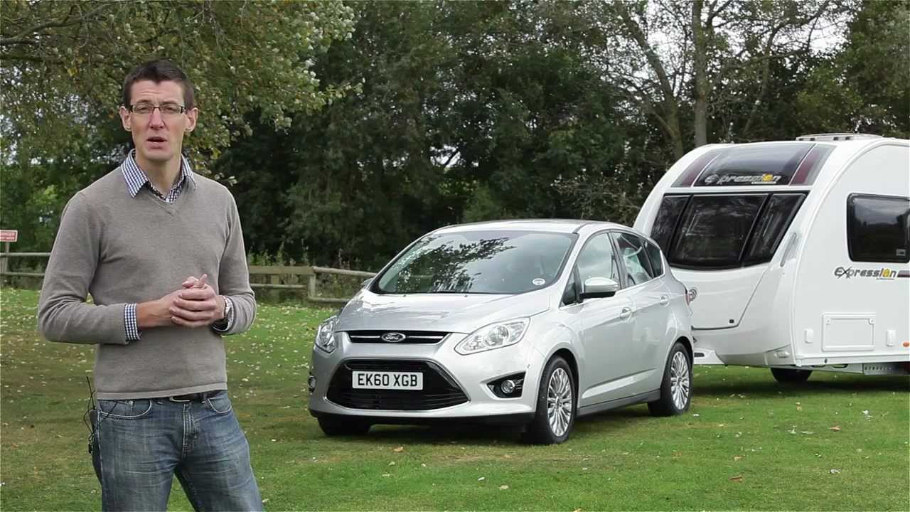 Focus St Towing >> Practical Caravan | Ford C-Max | Review 2012 - YouTube