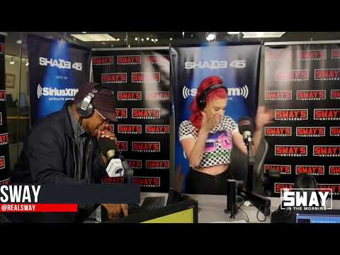 Justina Valentine Freestyles on Sway In The Morning