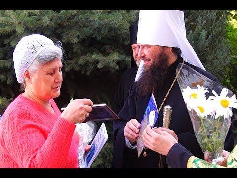 В день преподобного Амвросия Оптинского Владыка Феодор принимал поздравления с днем рождения