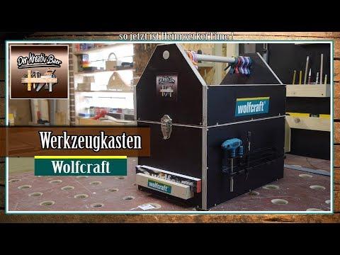 Beliebt ✅ Wolfcraft Werkzeug | Werkzeugkasten + Gewinnspiel - YouTube ZB34