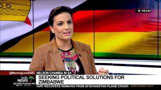 Nelson Chamisa in South Africa