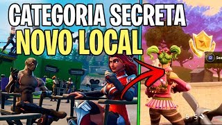 FORTNITE-NEW LOCATION OF THE FREE SECRET CATEGORY OF WEEK 6 OF THE BATTLE PASS!