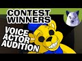 Art Contest Winners + Part 13 Voice Acting AUDITION! [Tony Crynight]