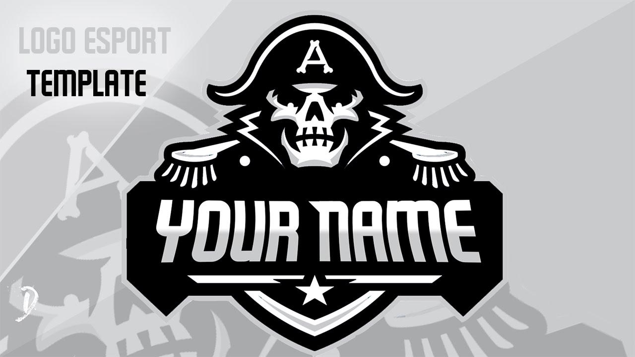 TEMPLATE PSD Logo E-Sport Pirates - YouTube