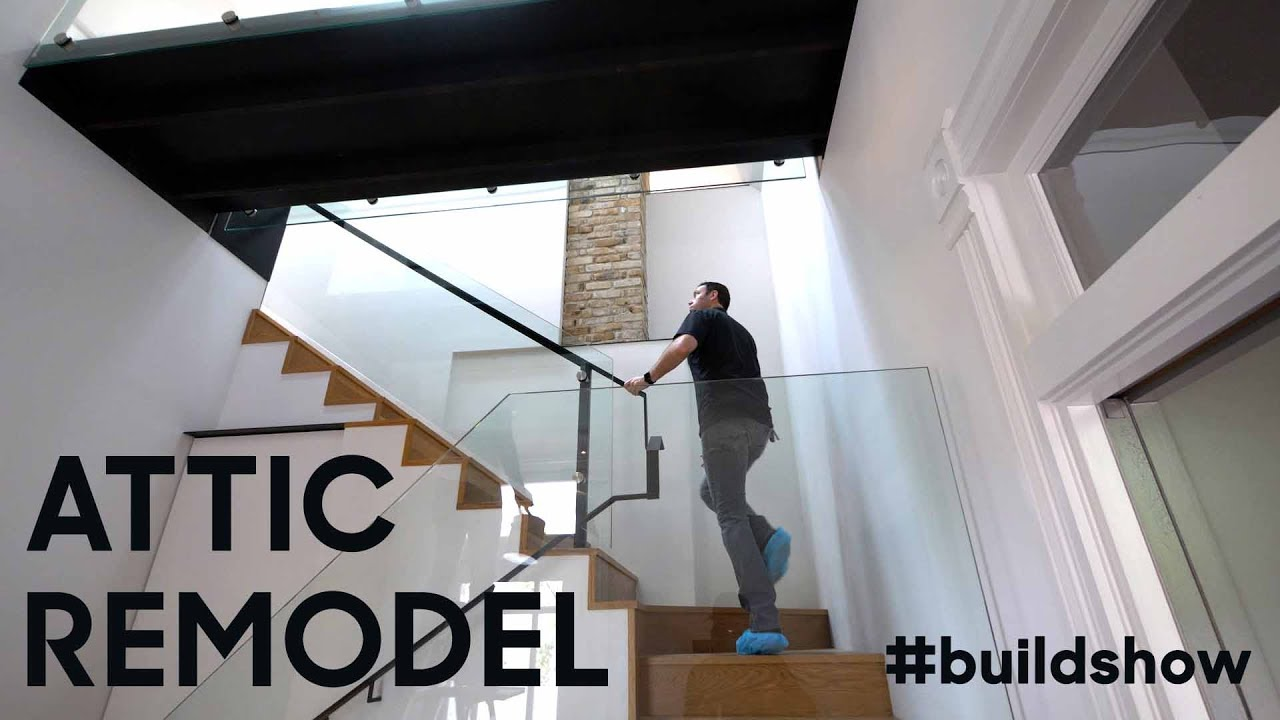 Converting an Attic to a Bedroom & Converting an Attic to a Bedroom - YouTube