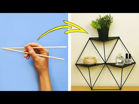 36 BRILLIANT DIY CRAFT IDEAS FOR YOUR HOME