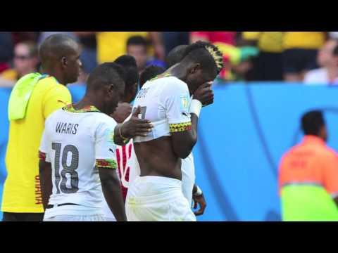 World Cup 2014: Ghana v Portugal