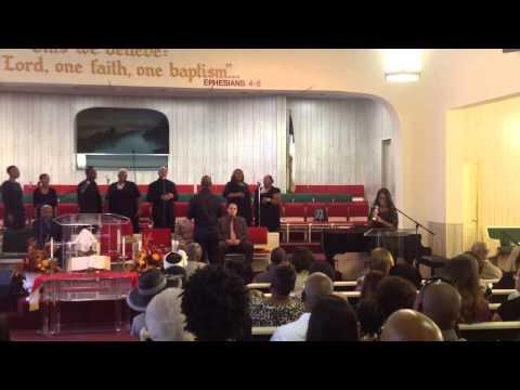 Second Baptist Monrovia Service on Sunday, September 28