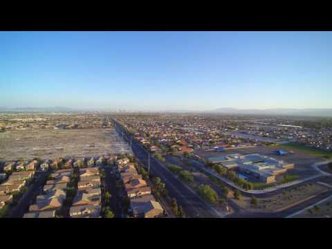 Chroma 4K Drone Test Flight 2 400ft up North Las Vegas NV