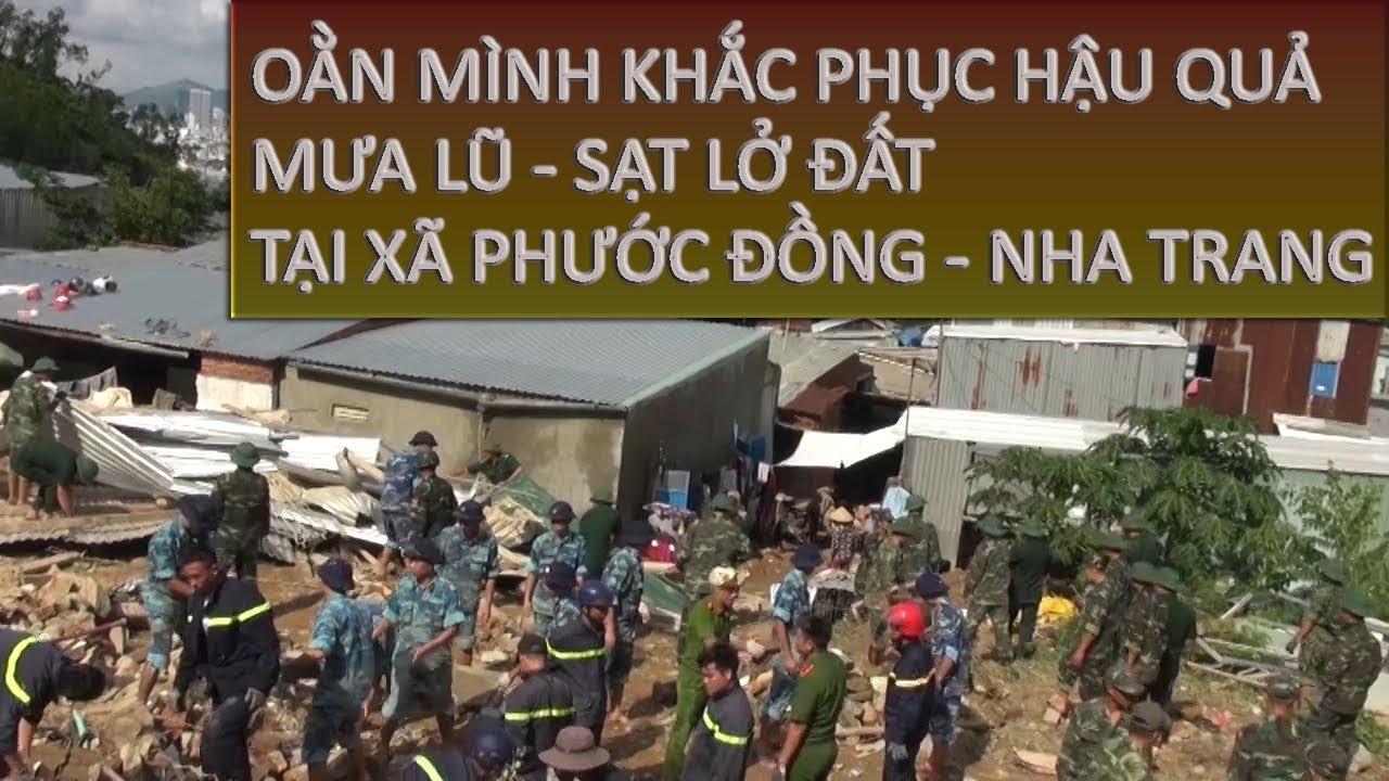 Oằn Mình Khắc Phục Mưa Lũ Tại Phước Đồng – Nha Trang| Câu Chuyện Xã Hội