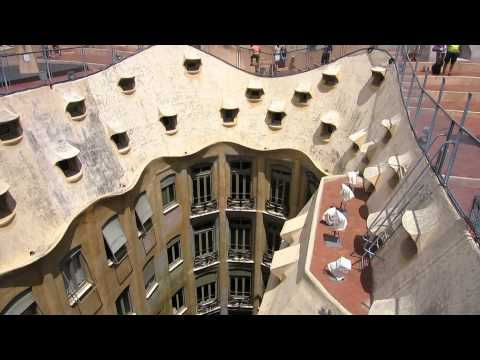 Gaudi, Barcelona, Pedrera+Sagrada+Guell