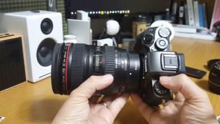 캐논 렌즈 변환 어댑터 EF-EOS M 사용기
