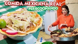 Conociendo una cenaduría típica mexicana - Periscocinando