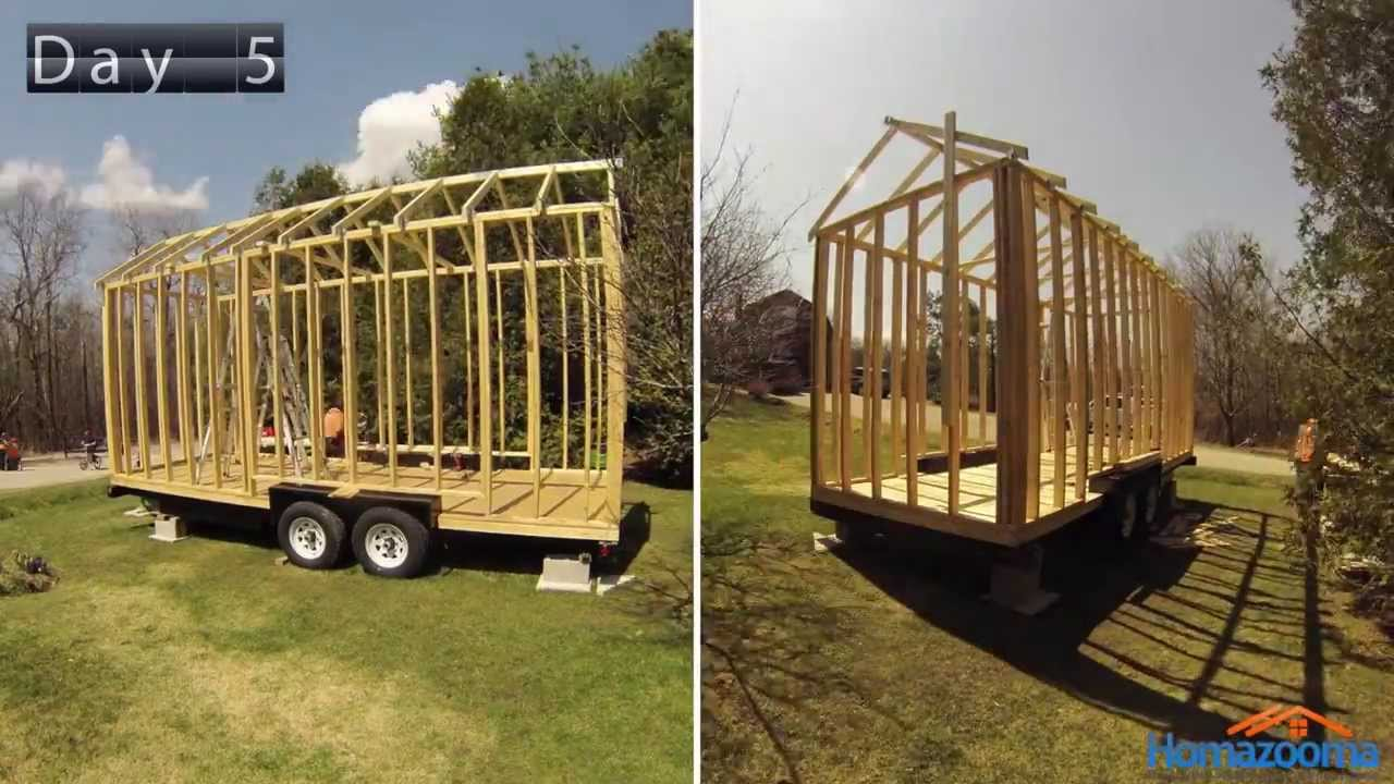 Build a tiny house for free tiny house ecourse link below for Building a house step by step