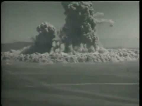 Project Sedan Nuclear Test