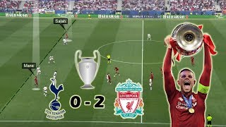 Download Video Liverpool Win their 6th UCL Title | Tottenham vs Liverpool 0-2 | Tactical Analysis | UCL Final MP3 3GP MP4